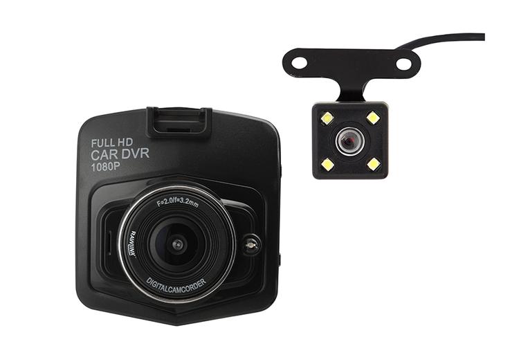 Dashboard camera voor in de auto (scherm 2,4 inch)