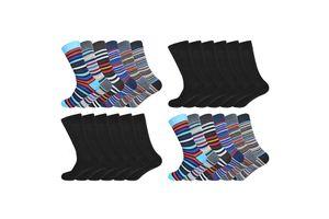 24 paar sokken van Gianvaglia (maat 43 - 46)