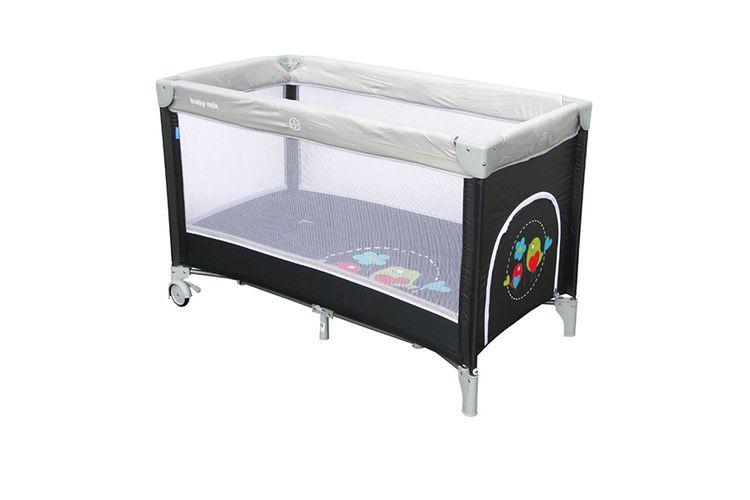 lit parapluie gris avec oiseaux lit parapluie avec imprim oiseaux 120 x 60 cm vavabid. Black Bedroom Furniture Sets. Home Design Ideas