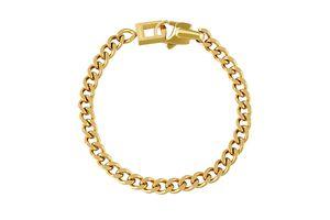 Goudkleurige armband Chain Lina