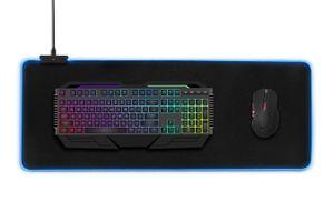 XXL Gaming muismat met led-verlichting (80 x 30 cm)