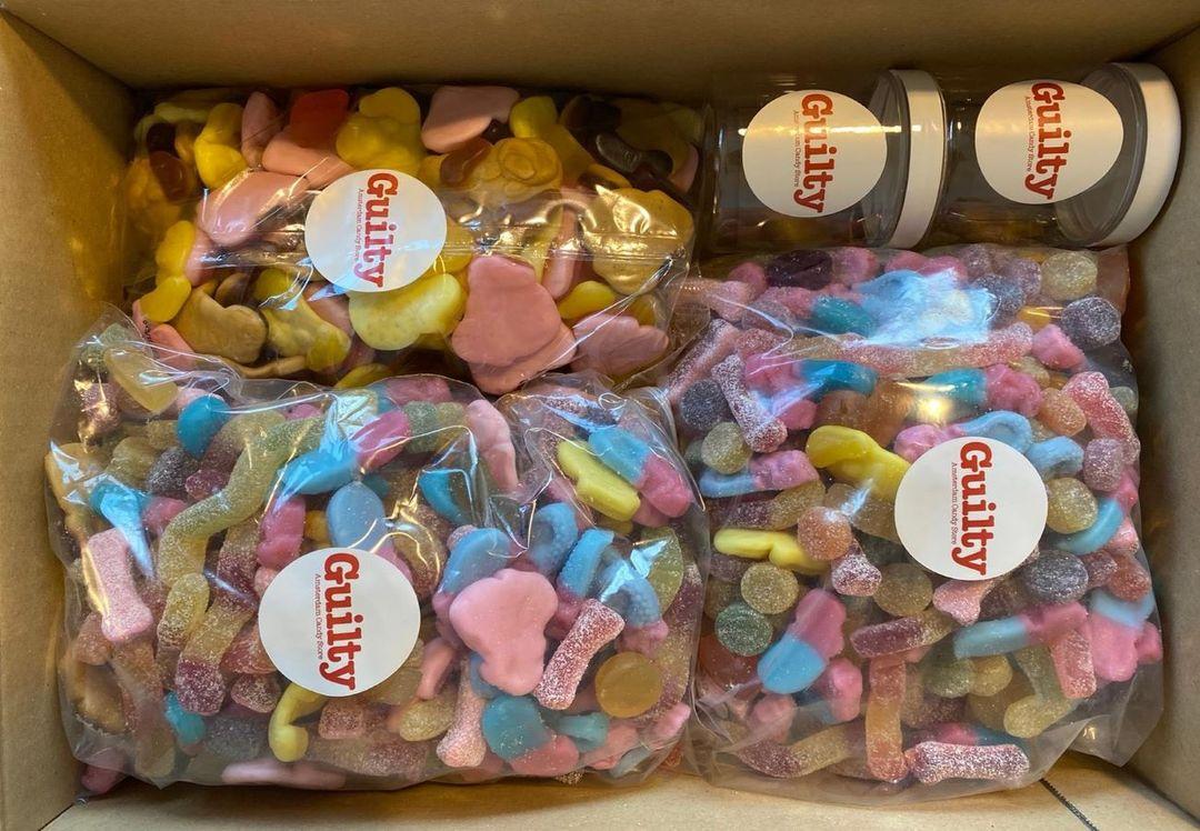 XXL snoeppaket van Guilty Candy Store (5 kg)
