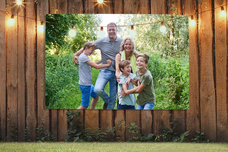 Je mooiste foto op een tuinposter (70 x 50 cm)