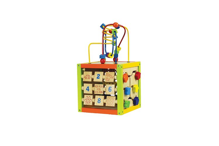 cube activites en bois cube d activit s en bois avec 5 jeux vavabid participez aux ench res. Black Bedroom Furniture Sets. Home Design Ideas