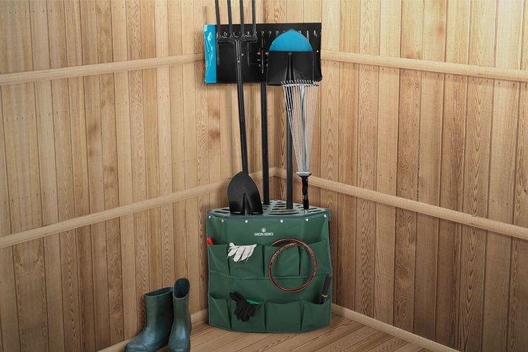 Opberger voor tuingereedschap van The Green Series