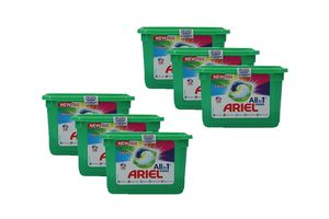 6 pakken Ariel Liquid All-in-1 Pods (84 pods)