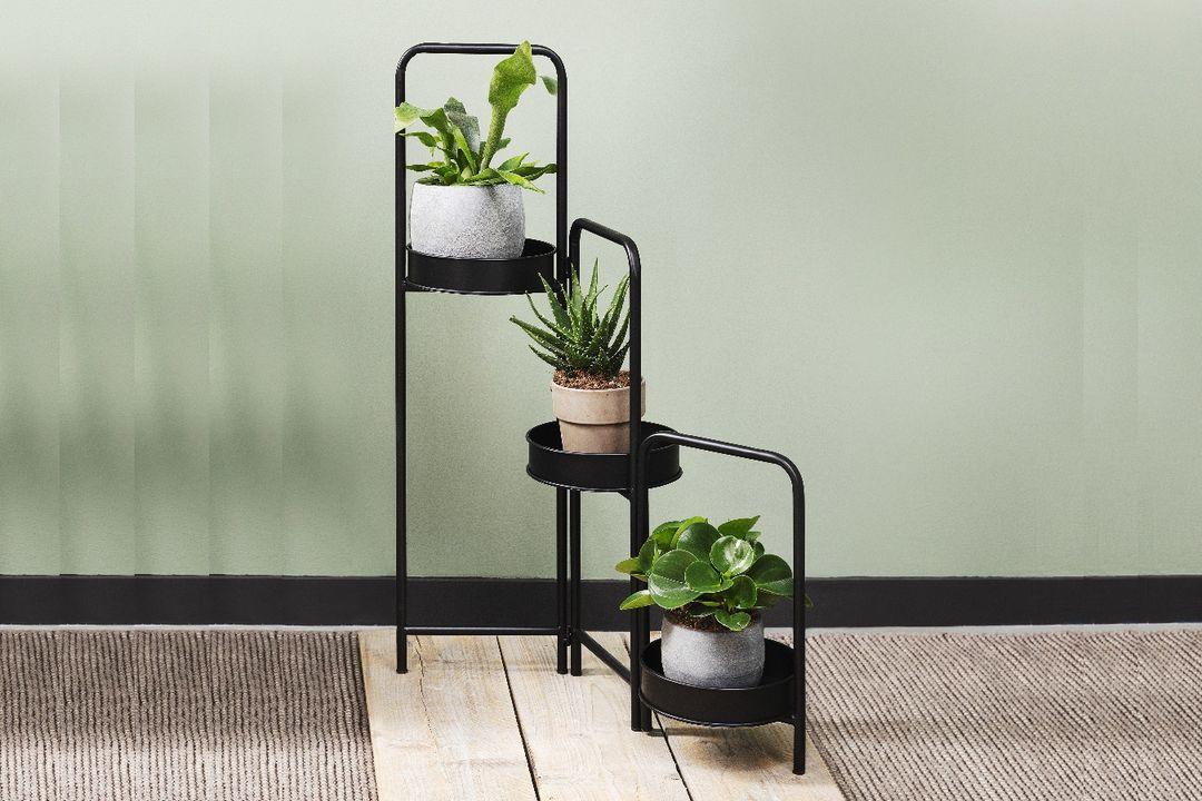 3-delige plantenstandaard van Lifa Living (model: Rose)