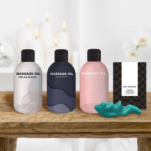 Massagepakket met 3 oli�n voor een thuismassage