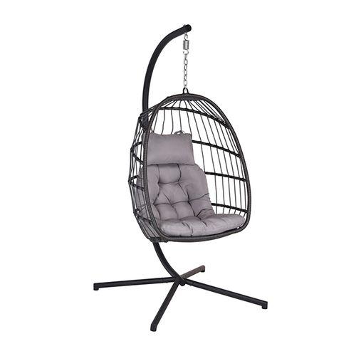 Opbouwbare hangstoel met kussen
