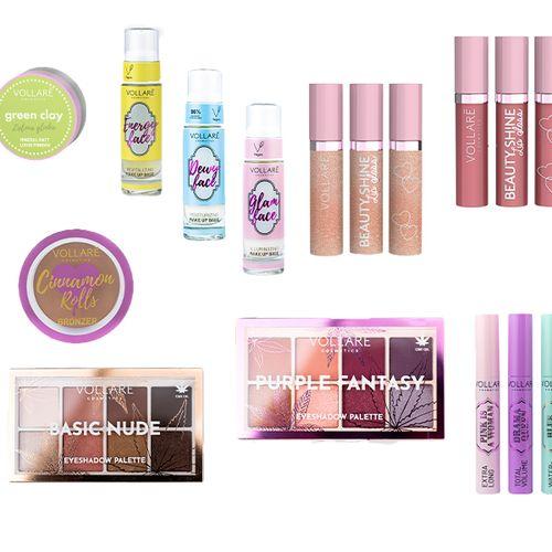 Make-upset van Vollare Cosmetics
