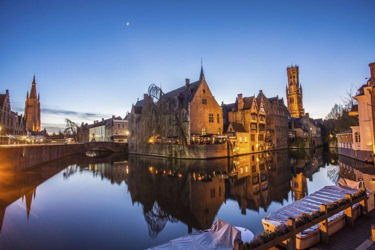 Korting 1 overnachting in 4 sterren Hotel de en apos Medici in Brugge