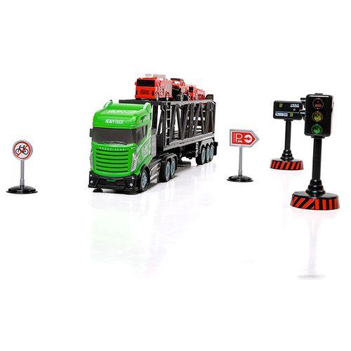 Bestuurbare vrachtwagen met 3 auto's