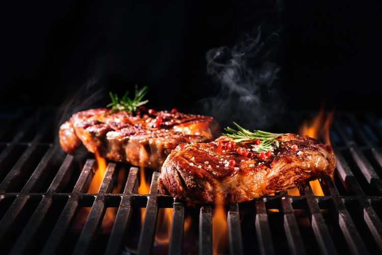 Ribeye en entrecote-steakbox van BBQthuisbezorgd.nl
