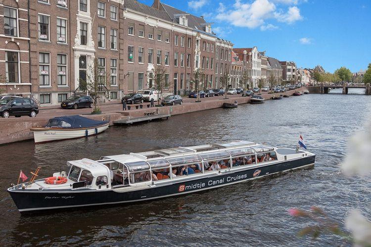 Rondvaart door de grachten van Haarlem (2 p.)