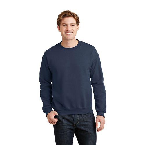 Donkerblauwe herensweater