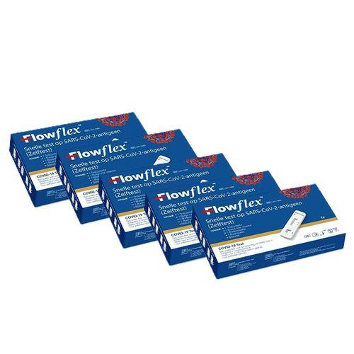 Zelftest COVID-19 van Acon Biotech FlowFlex (5 stuks)