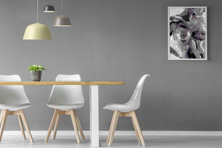 Luxe Witte Stoelen.4 Luxe Eetkamer Stoelen