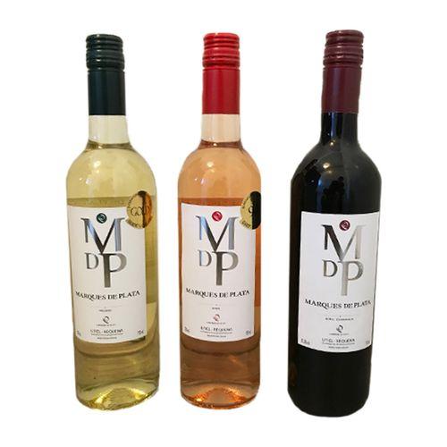 6 flessen wijn 750ml: Marques de Plata rood, rosé of wit
