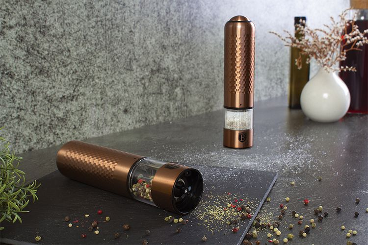 Elektrische peper- & zoutmolen van Berlinger Haus