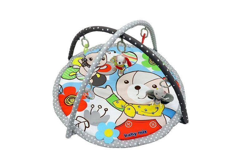 Speelkleed met dieren en speelmobiel van Baby Mix