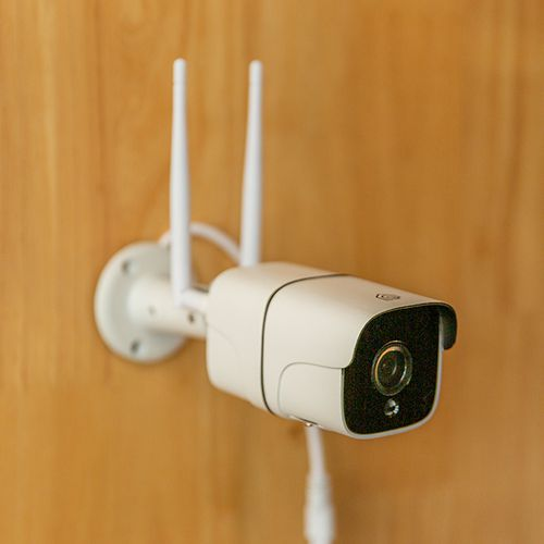 Smart wifi-beveiligingscamera van Hyundai met app