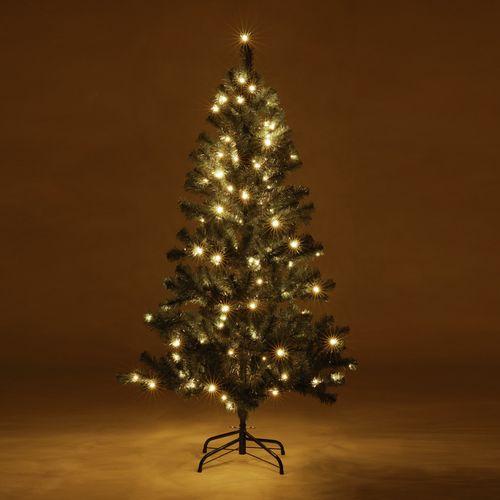 Kerstboom met verlichting (150 cm)
