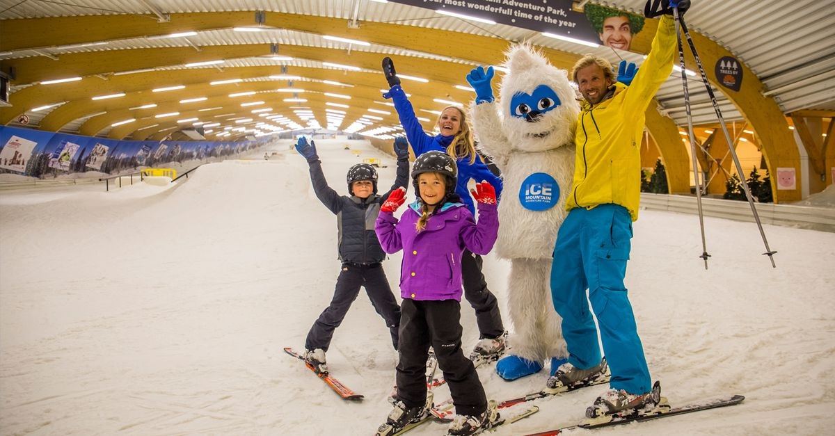 2 heures de ski ou de snowboard à Ice Mountain (2 p.)