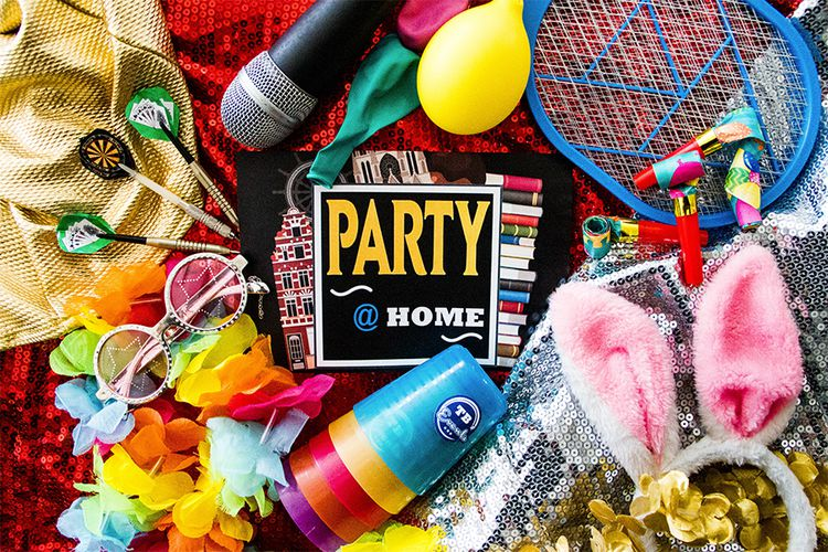 'Party at Home' spel voor thuis