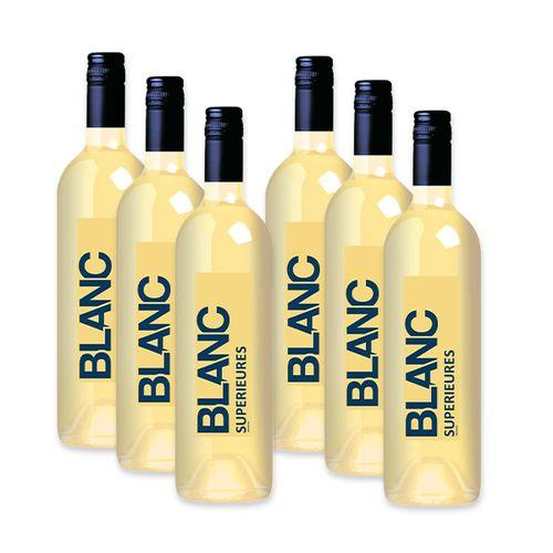 6 flessen zoete witte wijn