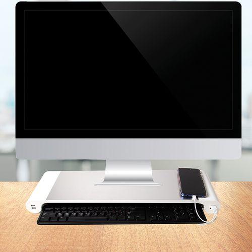 Bureau-accessoire met USB-poorten