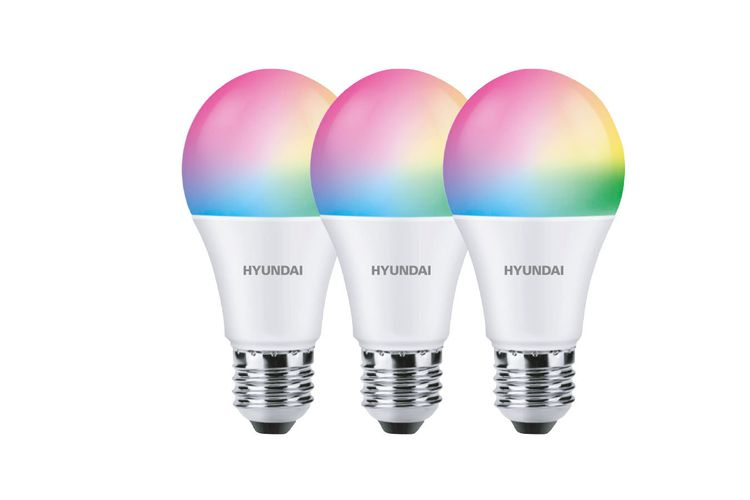 Korting 3 slimme lampen van Hyundai