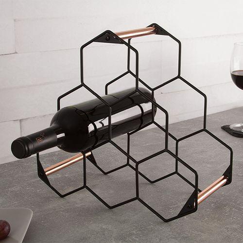Opbergrek voor wijnflessen