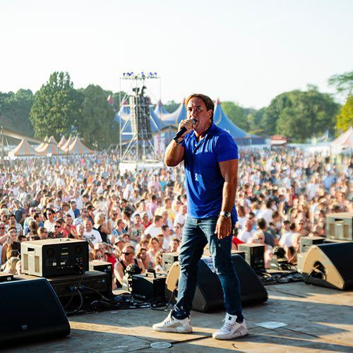 Puur Hollands Outdoor Festival Nijmegen met Tino Martin