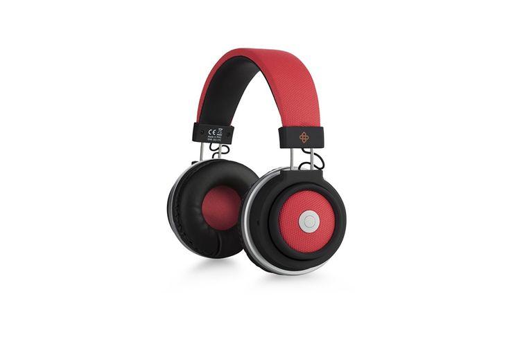 Bluetooth koptelefoon van Dutch Originals (rood)