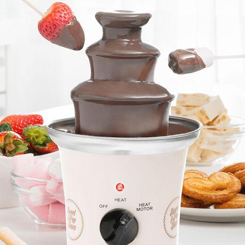 Elektrische chocoladefontein