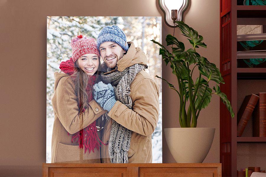 Korting Jouw foto op acrylglas (60 x 40 cm)
