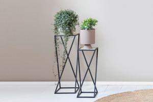 2 plantenstandaarden van Lifa Living (model: Nantes)