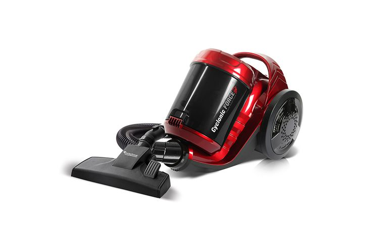 CF02 rode krachtige stofzuiger zonder zak (Premium)
