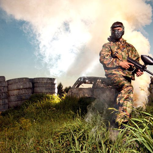 Paintball of airsoft