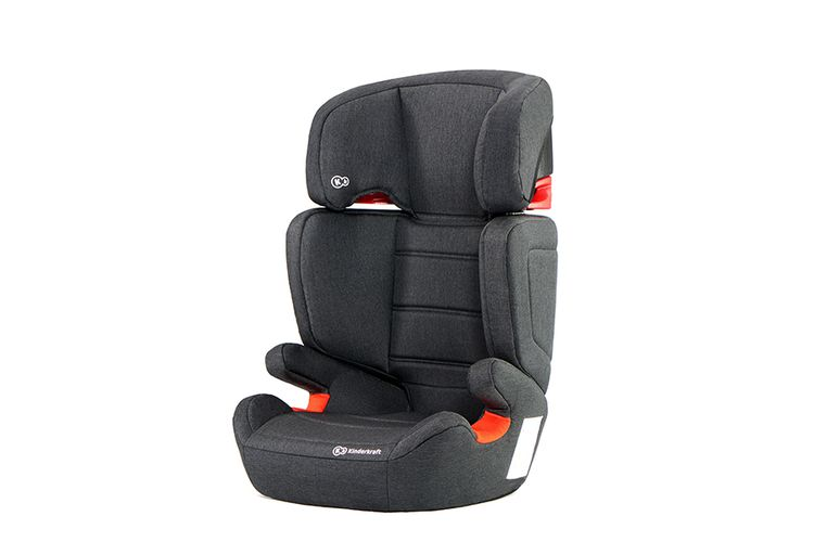 Zwarte autostoel met ISOFIX-systeem (model: Junior)