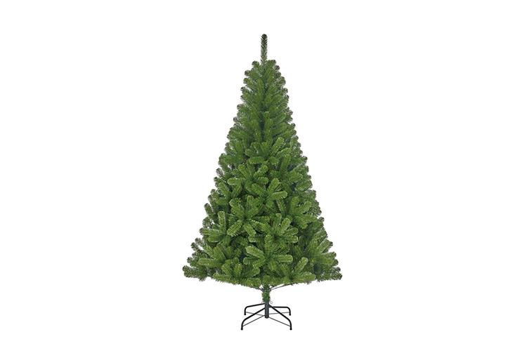 Voor de feestdagen - Lichtgroene kunstkerstboom