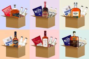 Ontdekkingsbox van Gin In The Box of Rum In The Box