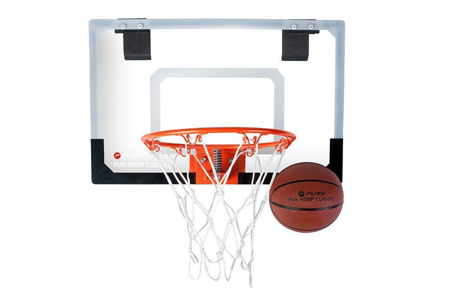 Fun basketbalset inclusief bal voor binnen