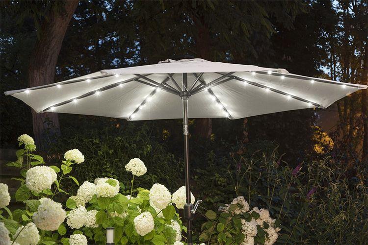 Parasol met led-verlichting van Lifa Garden (Ø 270 cm)
