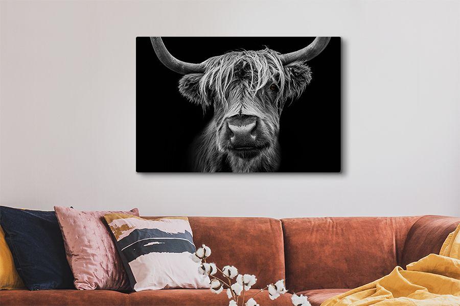 Korting Schotse Hooglanders op canvas 60 x 40 cm (81 varianten)