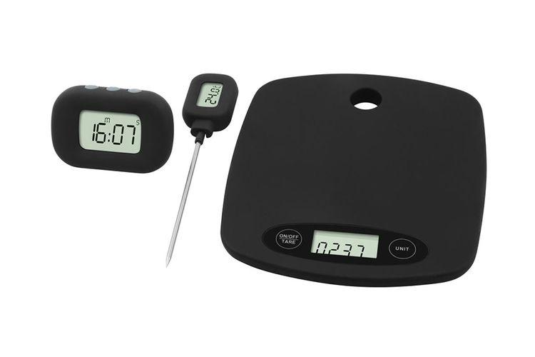 cuisine balance thermometre minuteur pratique dans la cuisine balance thermom tre et. Black Bedroom Furniture Sets. Home Design Ideas