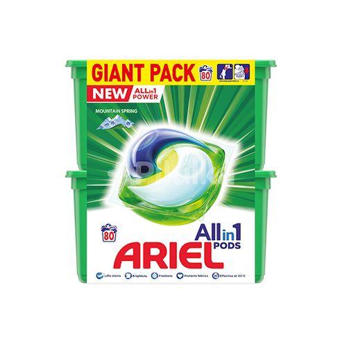 2 pakken met Ariel-pods
