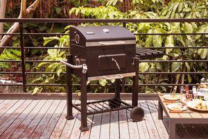 Barbecue van Buccan (model: Lockhart Solid Burner)