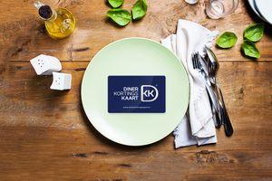 1 jaar lang 25 procent korting op je rekening in 600 restaurants