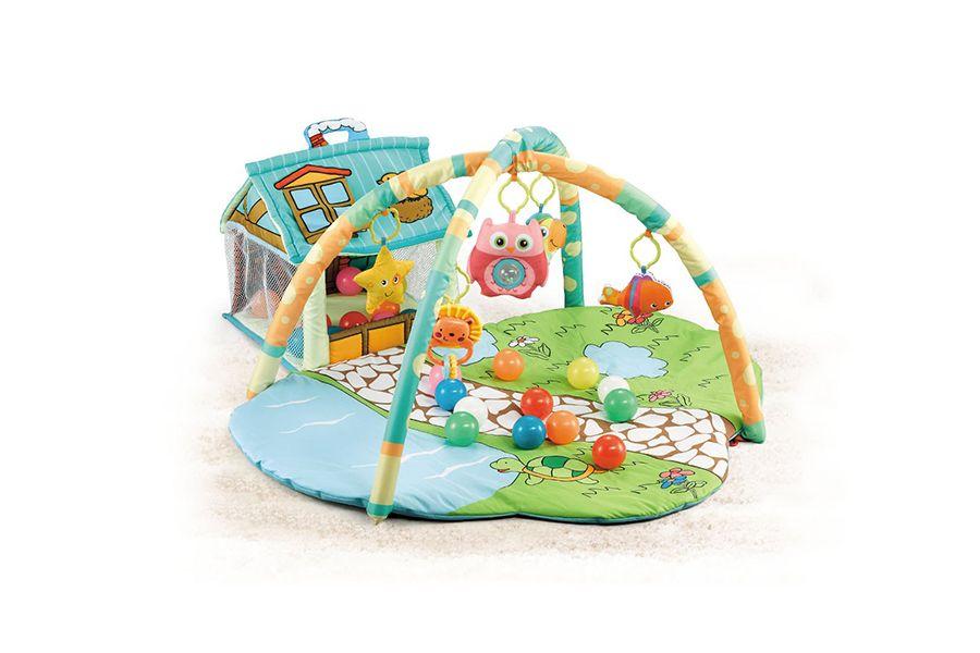 Speelmat Park met diverse accessoires